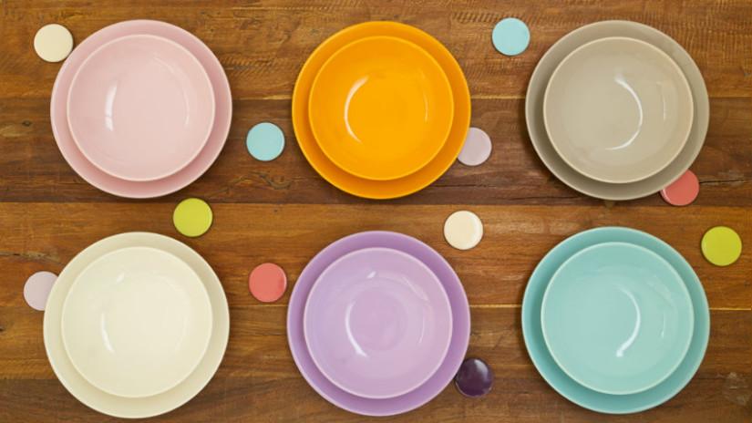 piatti in arcopal colorati
