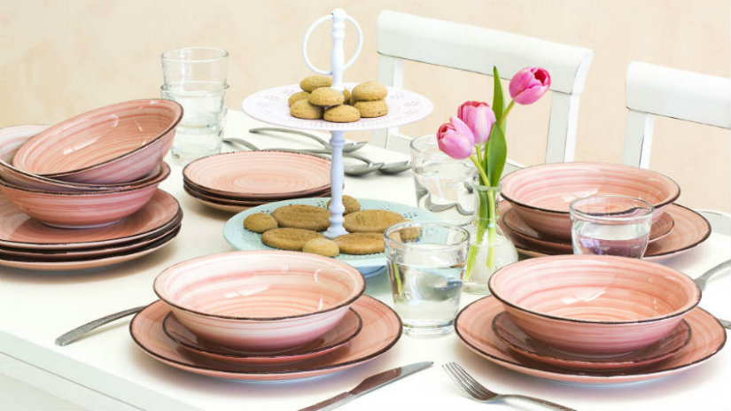 Piatti di design una tavola contemporanea e chic dalani - Ikea piatti cucina ...