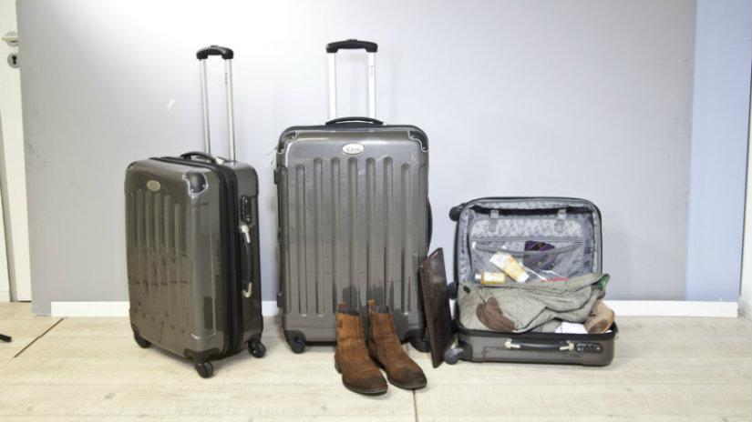 portascarpe da viaggio valigie stivali