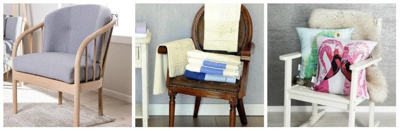 sedie in legno con braccioli seduta imbottita