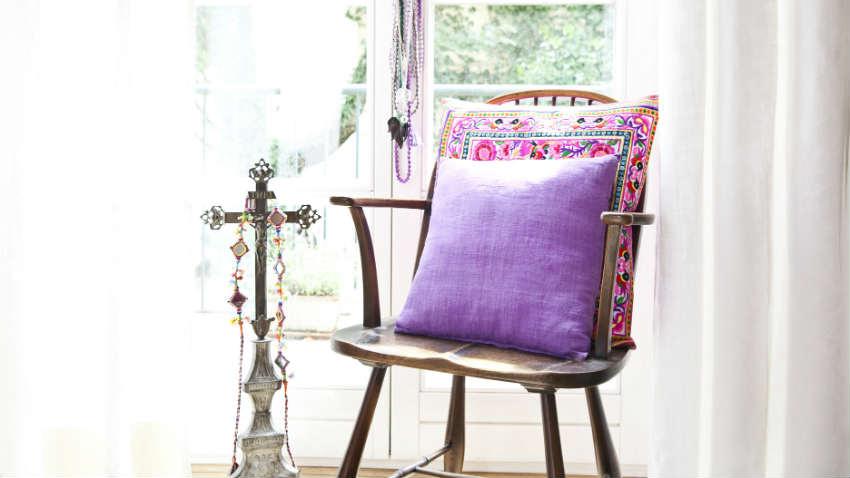sedie in legno in arte povera
