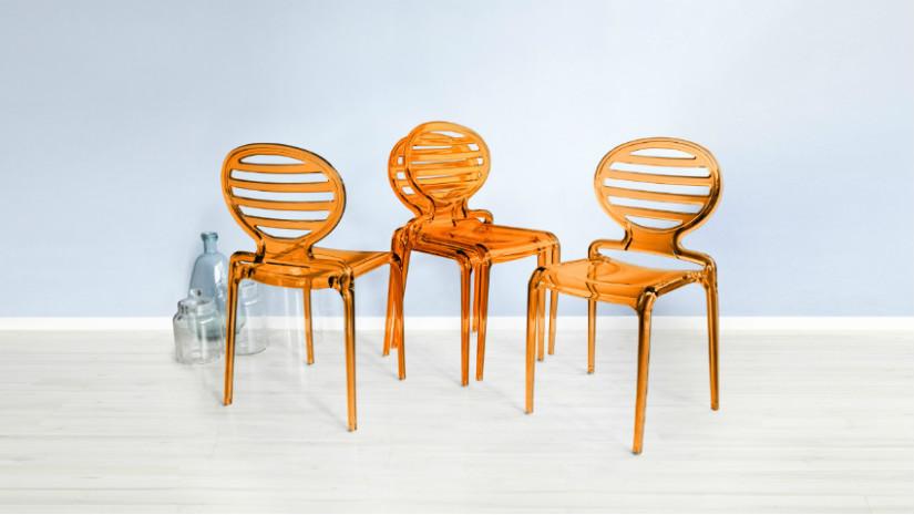 sedie di design in acciaio