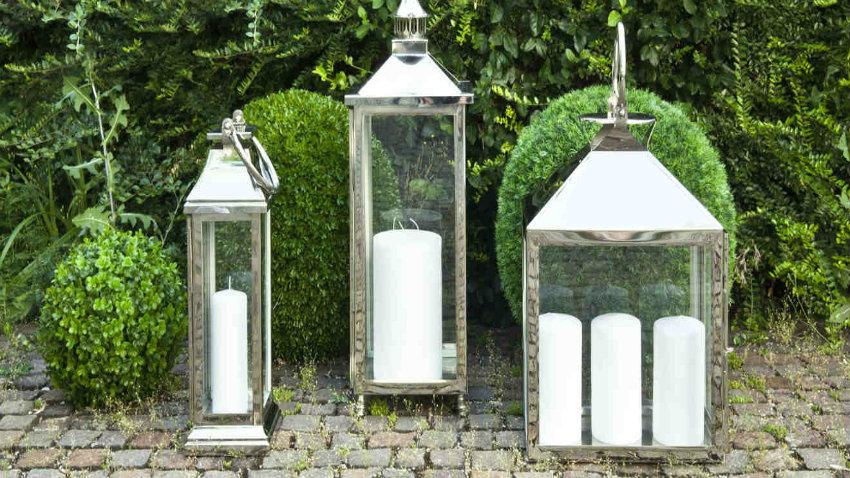 torce da giardino per illuminare con stile