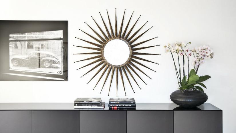 mobili per ingresso moderni specchio vado