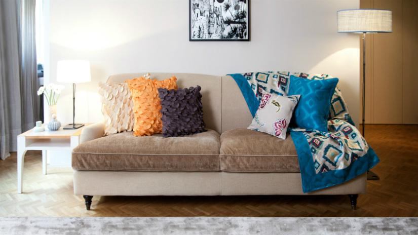 struttura divano letto living di stile