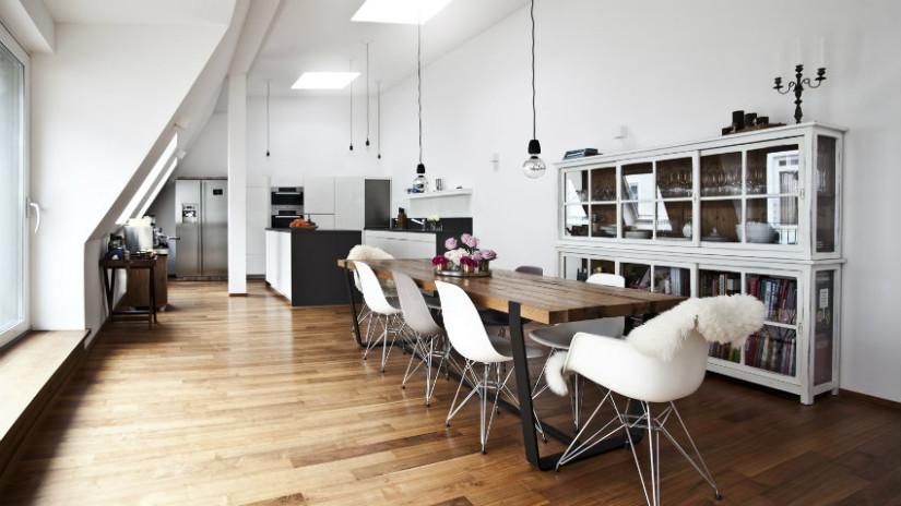 Tende per mansarda nuovo look per le finestre dalani e for Mobili sala da pranzo moderni