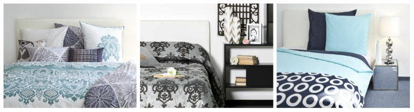 camera da letto di design trapunte optical