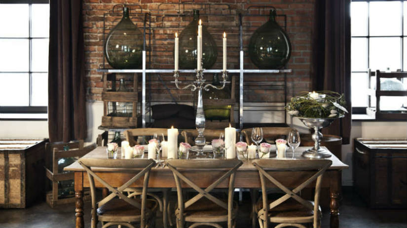 WESTWING | Cucina in noce: fascino country chic