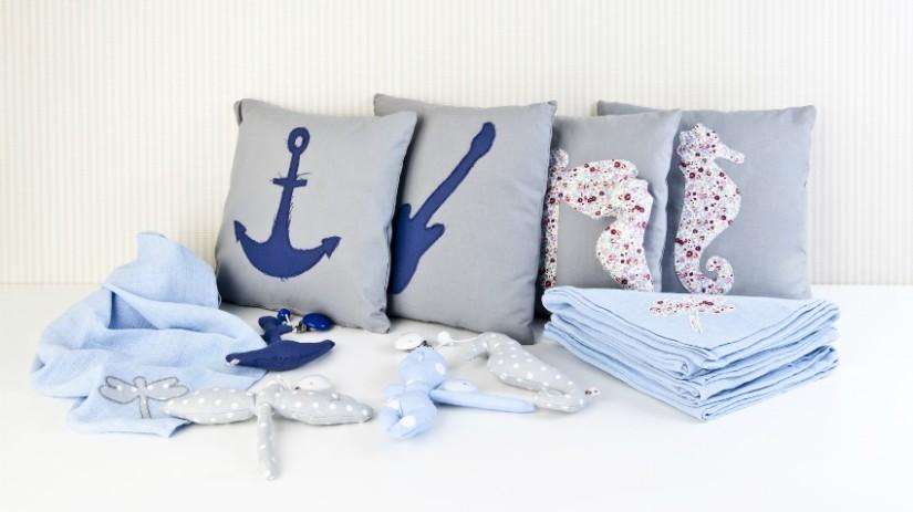 copertine di cotone per neonati