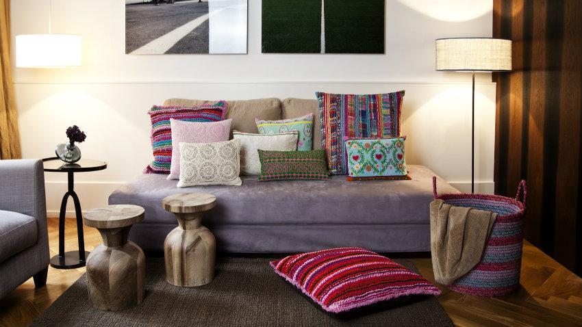 divano letto con penisola