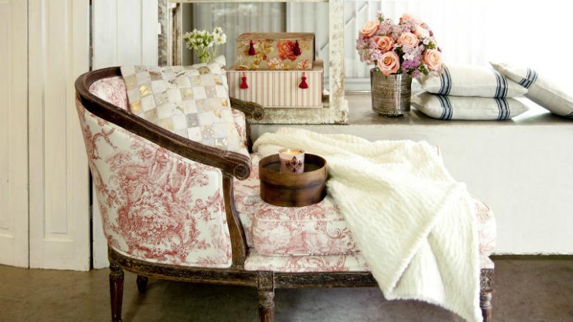 dormeuse design in legno rivestimento colori pastello