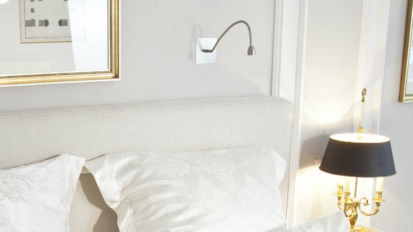 Lampade da parete a led luminose e di stile dalani e - Applique led per camera da letto ...