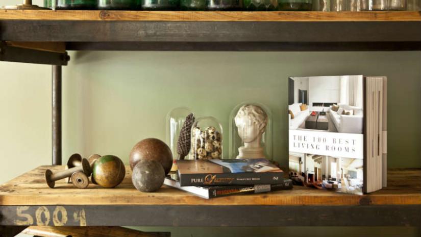 Parete attrezzata in ciliegio: soggiorno in legno - Dalani e ...