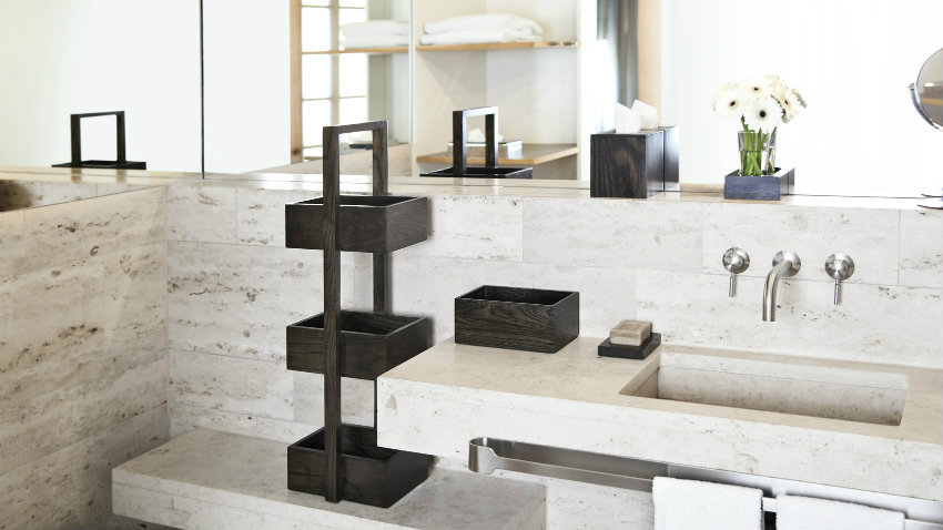 Mobile bagno classico in marmo