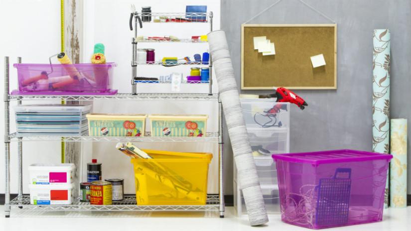 DALANI  Scatole plastica trasparente: ordine in casa