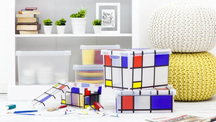 scatole in plexiglass