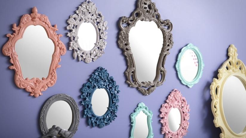 DALANI | Specchio con cornice: per riflessi chic e glamour