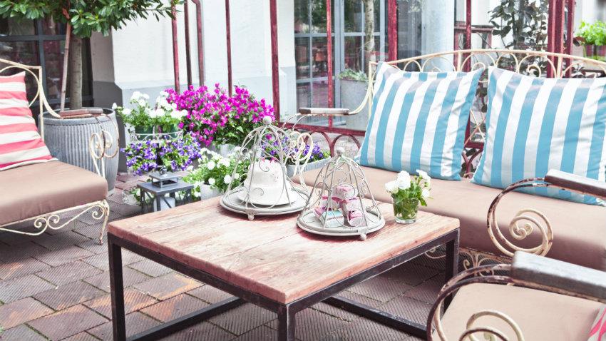 Tavoli allungabili in legno grezzo
