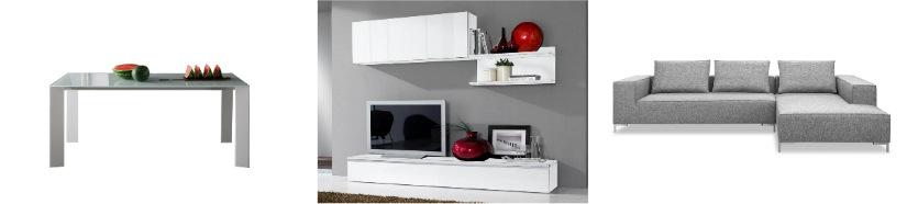 arredo contemporaneo parete attrezzata divano angolare