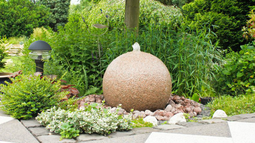 giardini moderni fontana