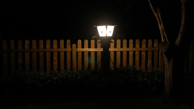 Lampioni da esterno vintage lampioni da giardino per illuminare