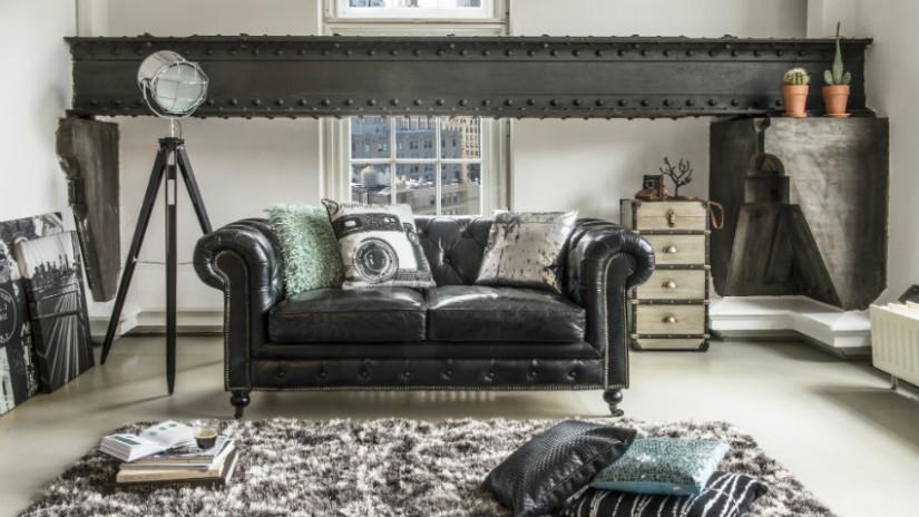mobili classici di lusso neri
