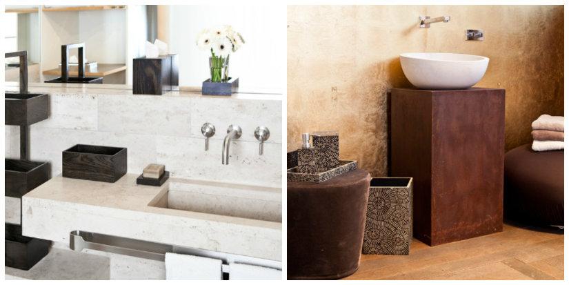 istrutturare il bagno lavandino lavabo sgabello piantine