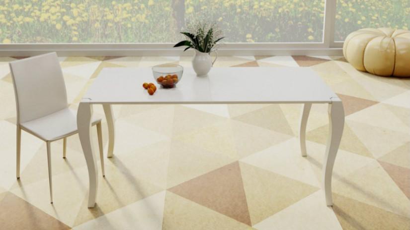 Tavolo bianco allungabile: eleganza e praticità  DALANI