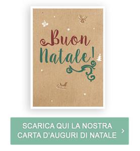 Scarica qui la nostra carta d'auguri di Natale
