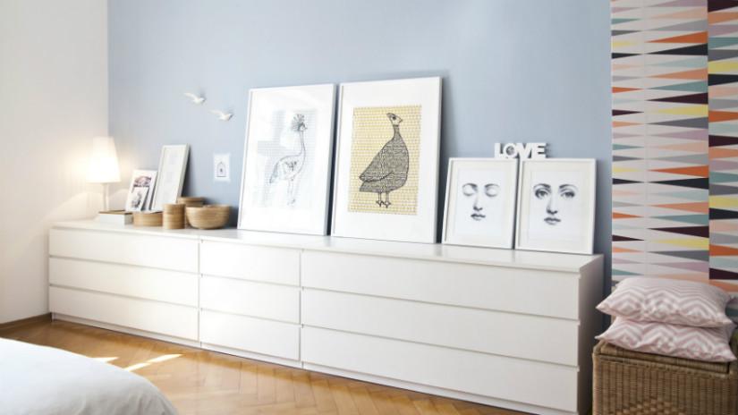 Mobile tv bianco per il soggiorno elegante dalani for Mobile soggiorno basso
