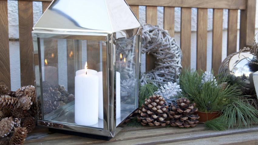 Addobbi natalizi per balconi eleganti e coloratissimi dalani e ora westwing - Winterdeko balkon ...