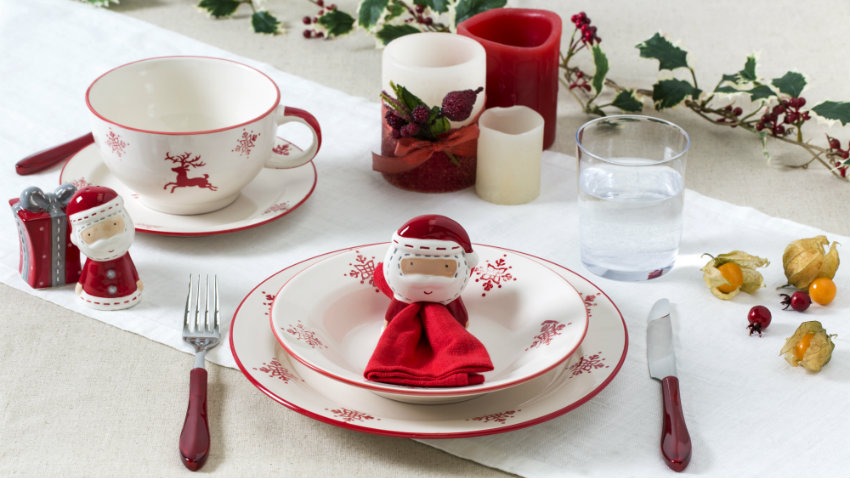 dalani | addobbi natalizi per la tavola: per un natale chic! - Decorazioni Natalizie Tavola