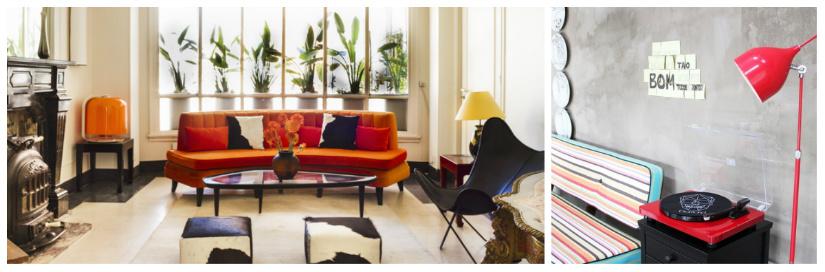 arredamento retrò con i mobili anni '50: colori e materiali