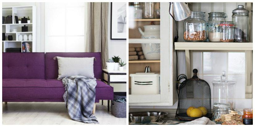 mobile salvaspazio divano letto mensole scaffali cucina