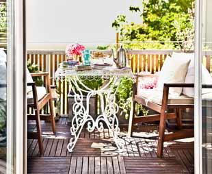 Rieten Balkon Meubels : Balkon meubels. thema balkon blauw with balkon meubels. good with