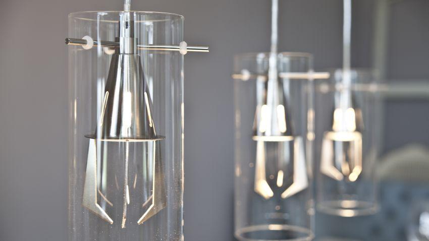 moderne glazen hanglampen