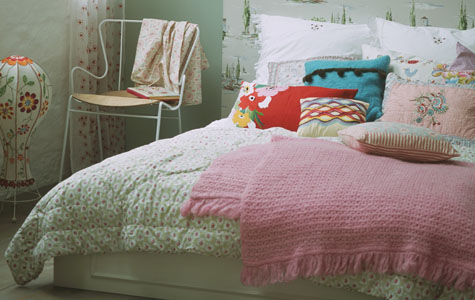 Rococo Bed Kopen : Kleuren in de slaapkamer westwing