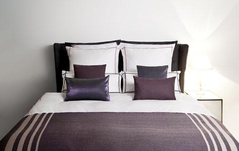 Paarse Slaapkamer Inrichten : Kleuren in de slaapkamer westwing