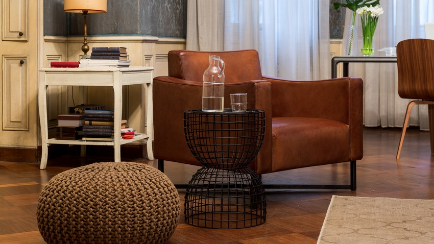 Stijlvolle leren stoelen voor ieder huis westwing for Bruine leren stoel
