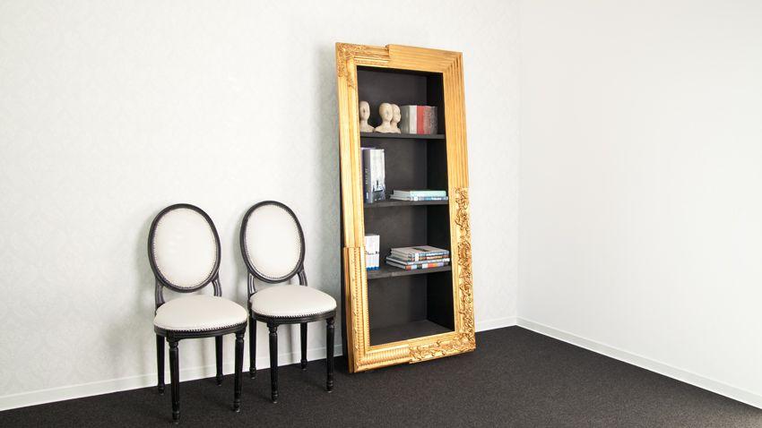 staande spiegel omgebouwd tot kast