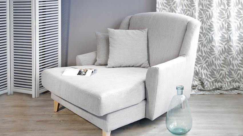 witte klassieke landelijke fauteuil