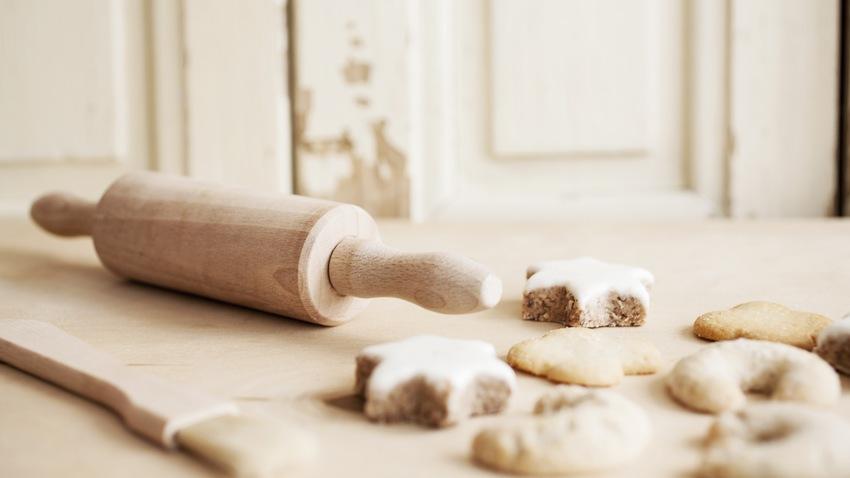 broodplank en deegroller