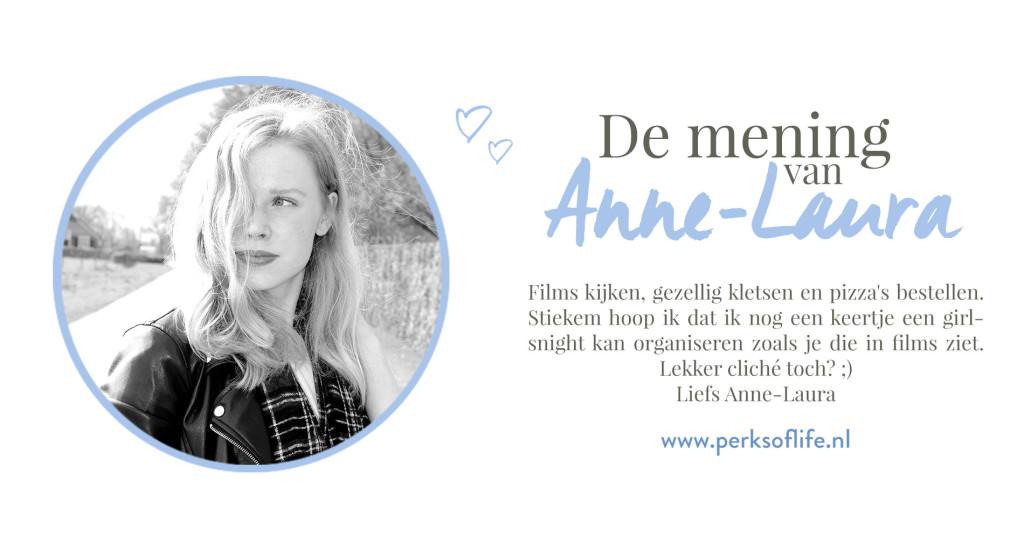 de mening van Anne-Laura