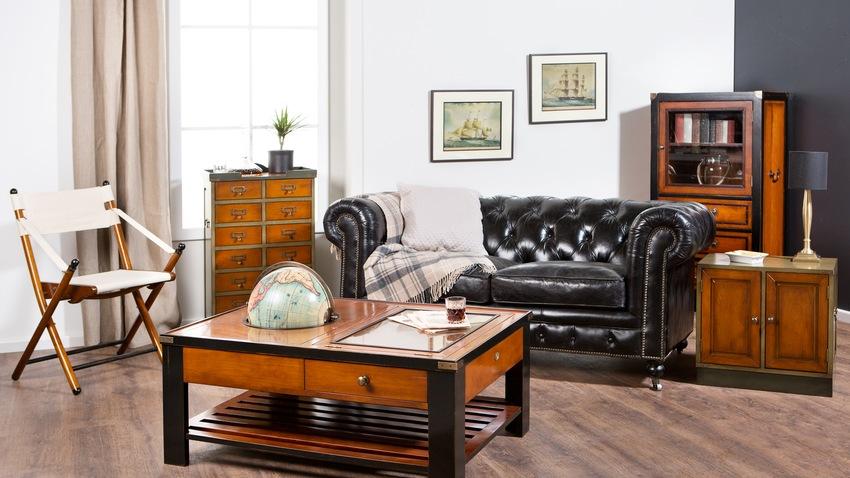 koloniale meubelen in koloniale salon