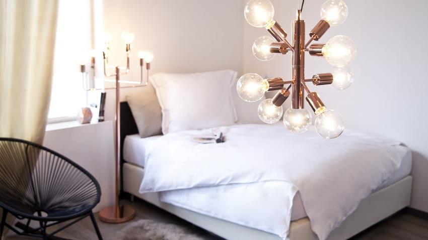 moderne koperen hanglampen