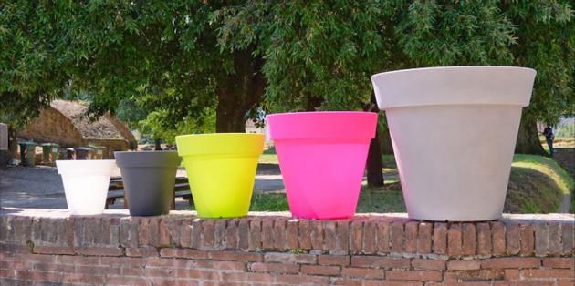 Farmet New gekleurde potten