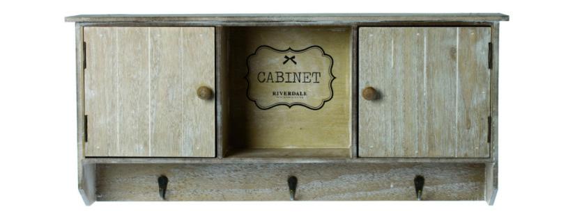 landelijke badkamers kastje houten garderobe cabinet brocante stijl