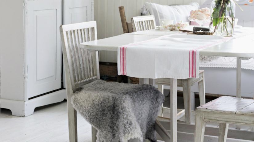 witte vloeren keuken stijl grijs wit brocante