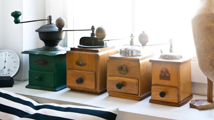 Brocante-keuken-antieke-molens-bruin