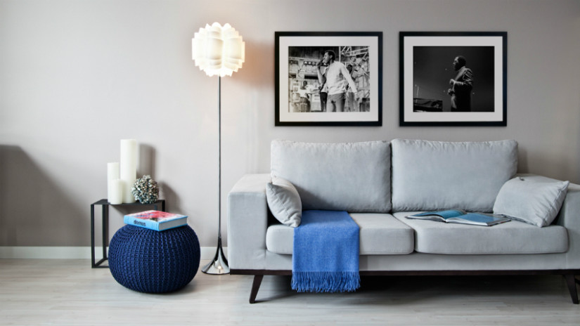 Staande lamp met dimmer moderne stijl fotolijsten